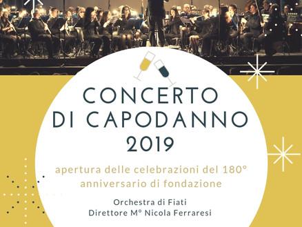 1 Gennaio 2019: Concerto di Capodanno
