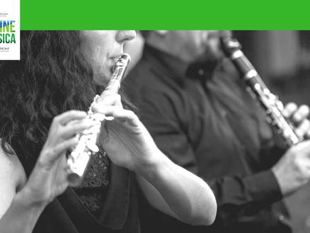 15 luglio 2018: Quintetto di Fiati // Colline in musica