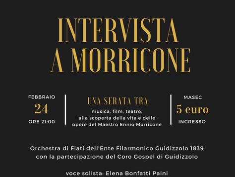 Ultimi posti disponibili per: Intervista a Morricone | concerto a Guidizzolo
