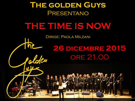 26 Dicembre 2015: The Golden Guys in concerto