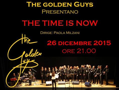 26 Dicembre 2015: The Golden Guys in concerto