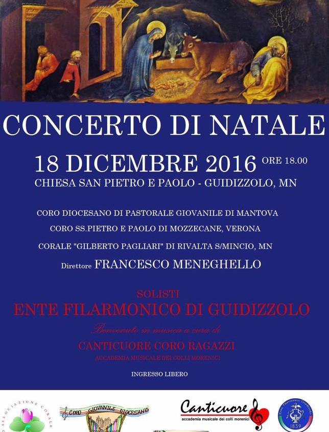 Concerto di Natale dei cori