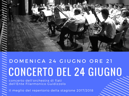 Concerto del 24 giugno a Solferino