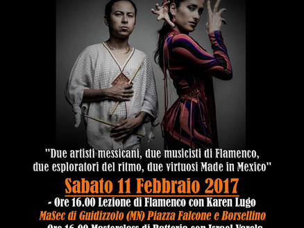 Sabato 11 Febbraio 2017: Made in Mexico Duo