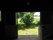 作業場から見た風景
