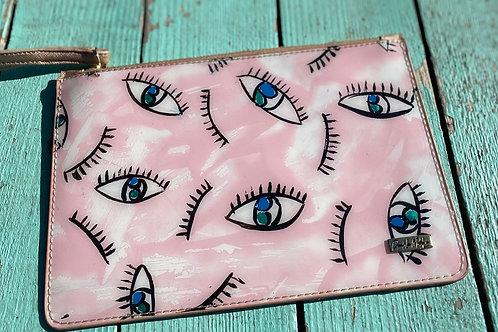 Pink Eye Clutch