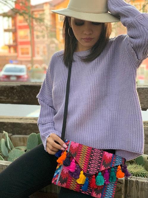 Tessa Lavender Sweater