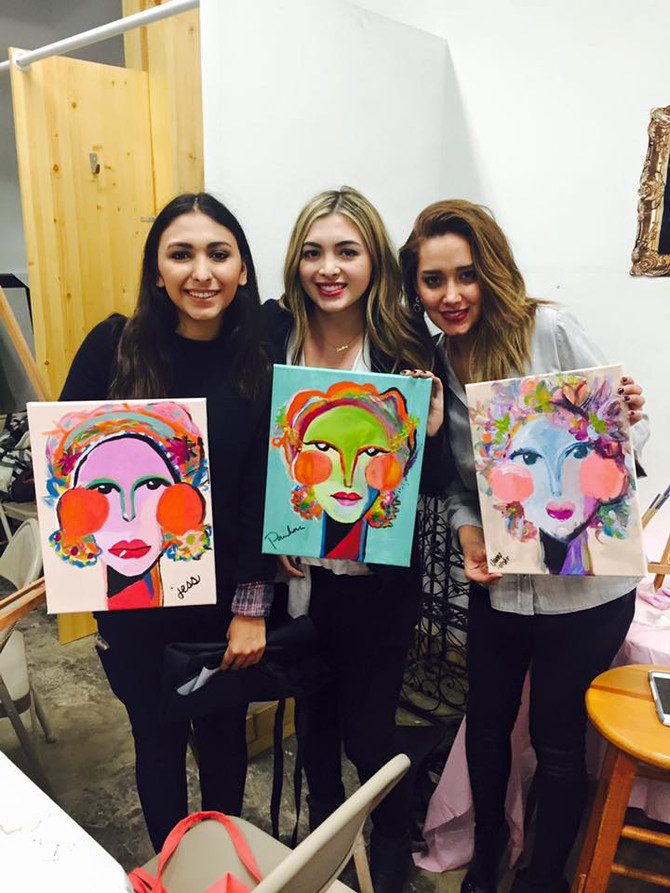 FBF to the Nuhda Drink & Draw Event!
