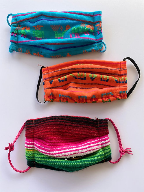 Mexican Fabric Face Mask
