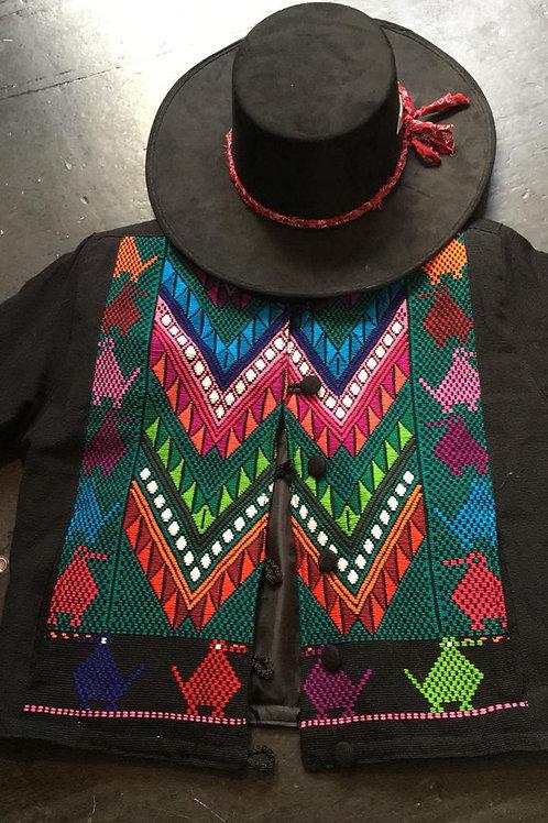 Zigzag Embroidered Jacket