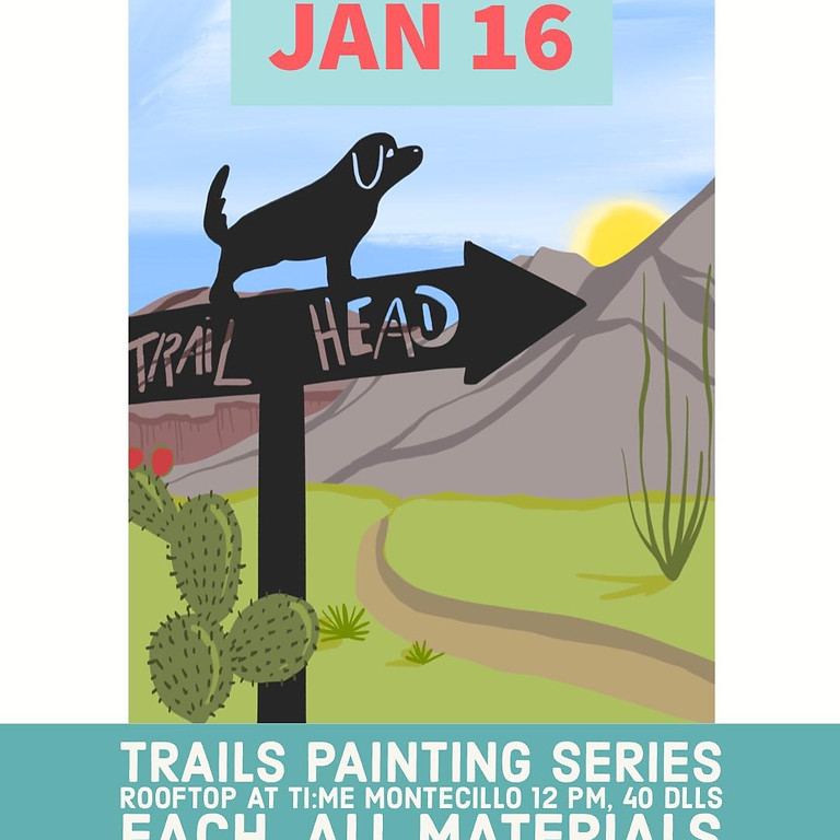 Trails Painting Series