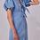 Thumbnail: Denim Puff Sleeve Dress