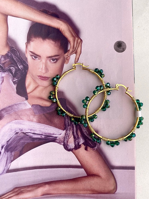EBA Hoop Earrings