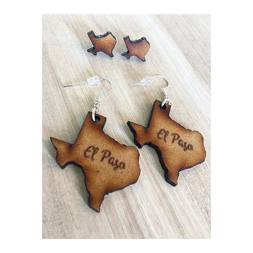 El Paso Wood Earrings