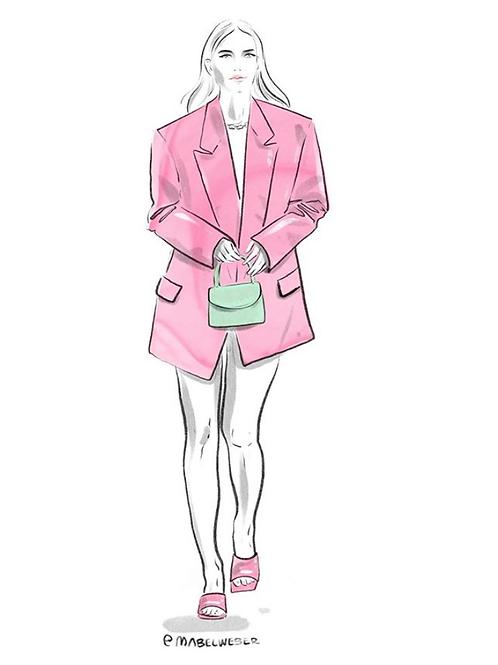Bubble Gum Pink Shoes