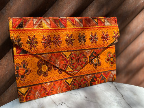 Chiapas Embroidered Clutch