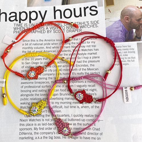 Threaded Bead Hamsa Bracelets