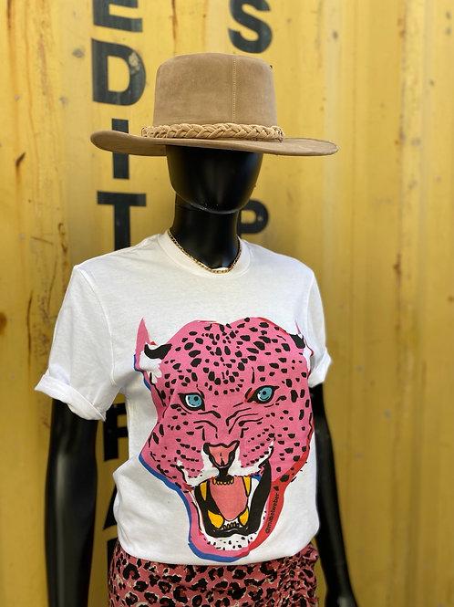 Pink Leopard Tee