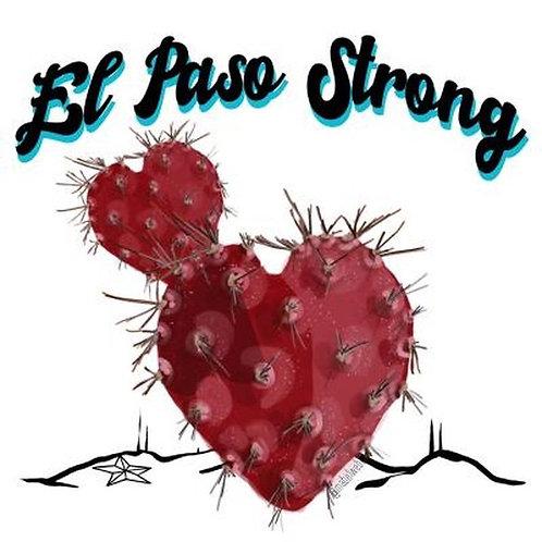 El Paso Strong Sticker