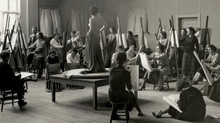Teaching Life Drawing at the SPARC Theatre