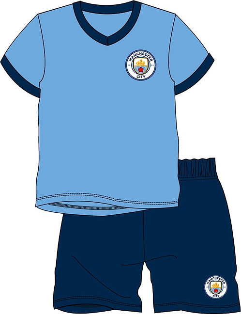 BOYS MANCHESTER CITY SHORTIE 3-12YEARS
