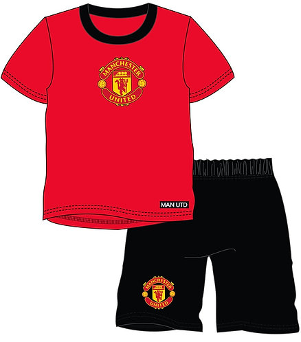 BOYS MANCHESTER UNITED SHORTIE 2-12YEARS