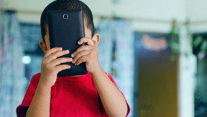 Think before you hand over that phone to your child