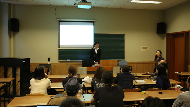 Conference at the Shanghai Conservatoire