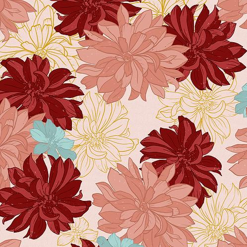 Floral - Dálias