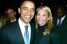 Baack Obama & Maria Tornberg