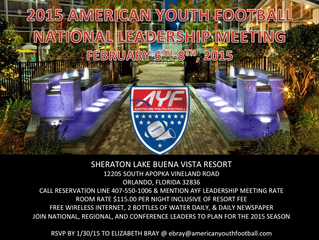 AYF 2015 NATIONAL CONFERENCE