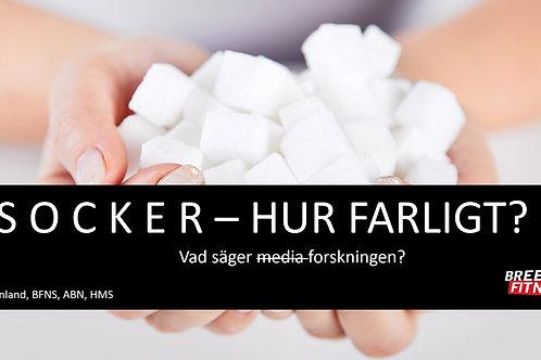 Vad säger forskningen om socker?