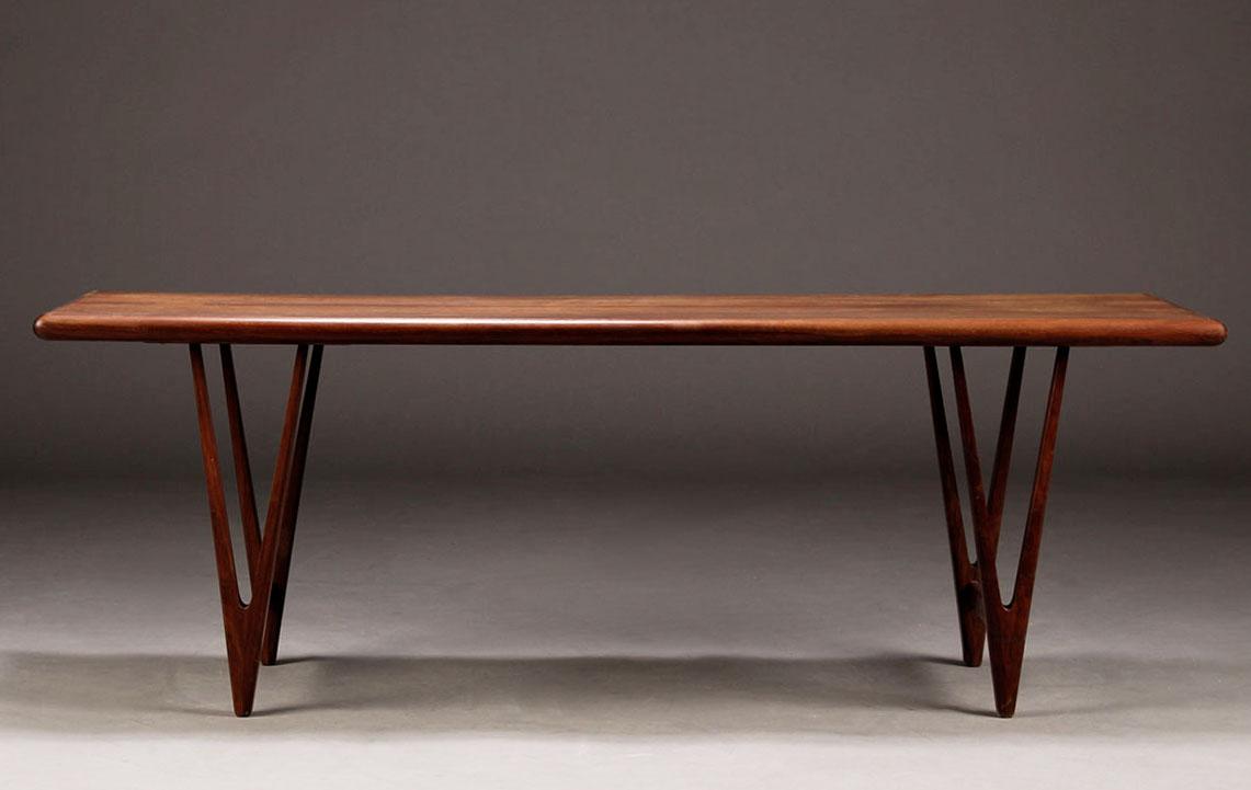 EW Bach coffee table rosewood 3