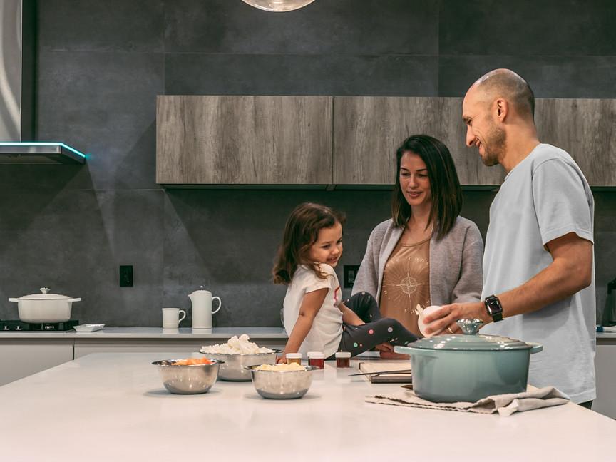 Triangulo funcional da cozinha