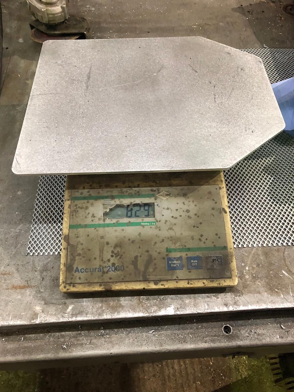 Aluminium sapi plate