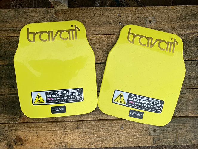 8.5kg Travail Fitness Virtus multi curve training plates