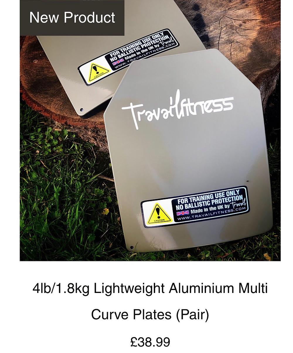 lightweight aluminium sapi plates