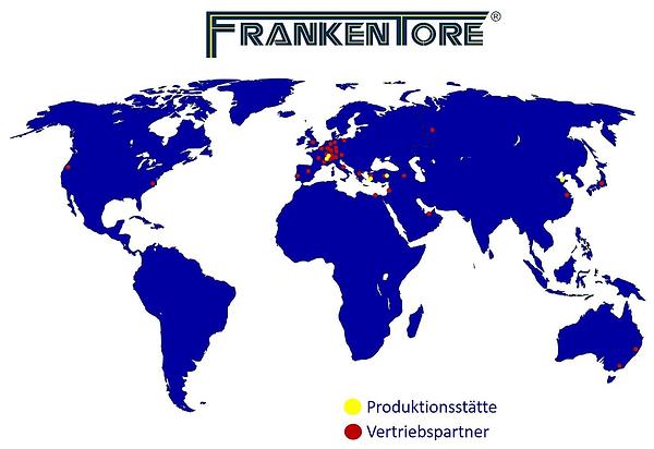 Standorte Frankentore