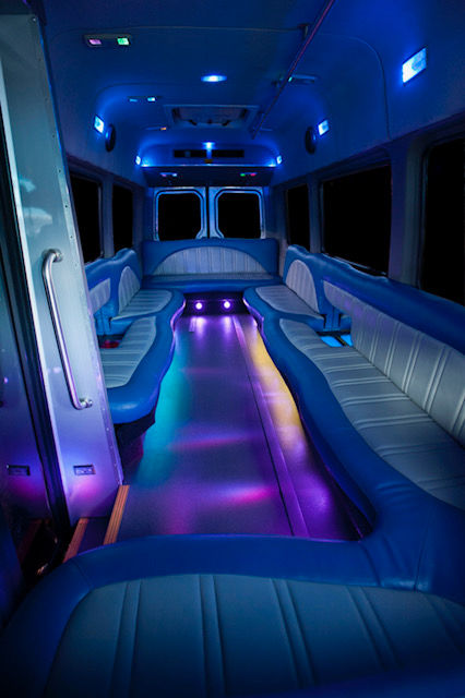 Limo Bus up to 16 Passenger