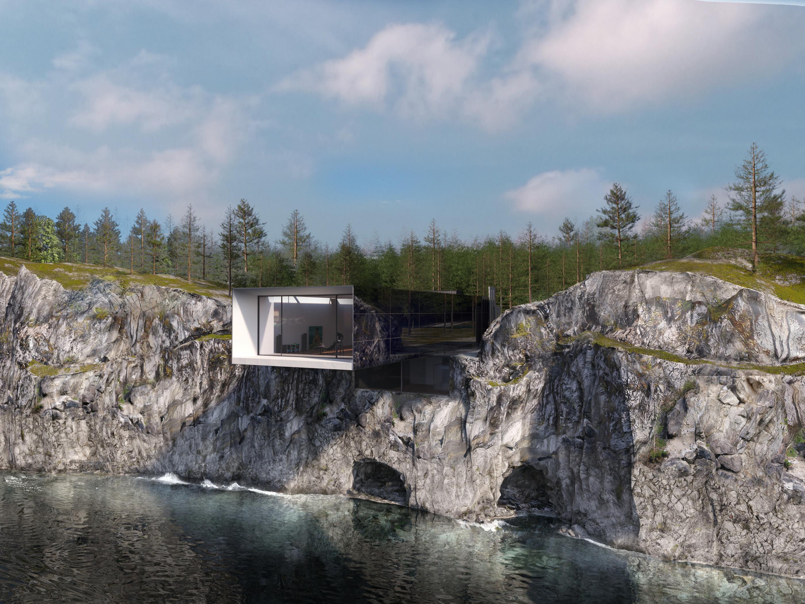 Фасад вид с воды
