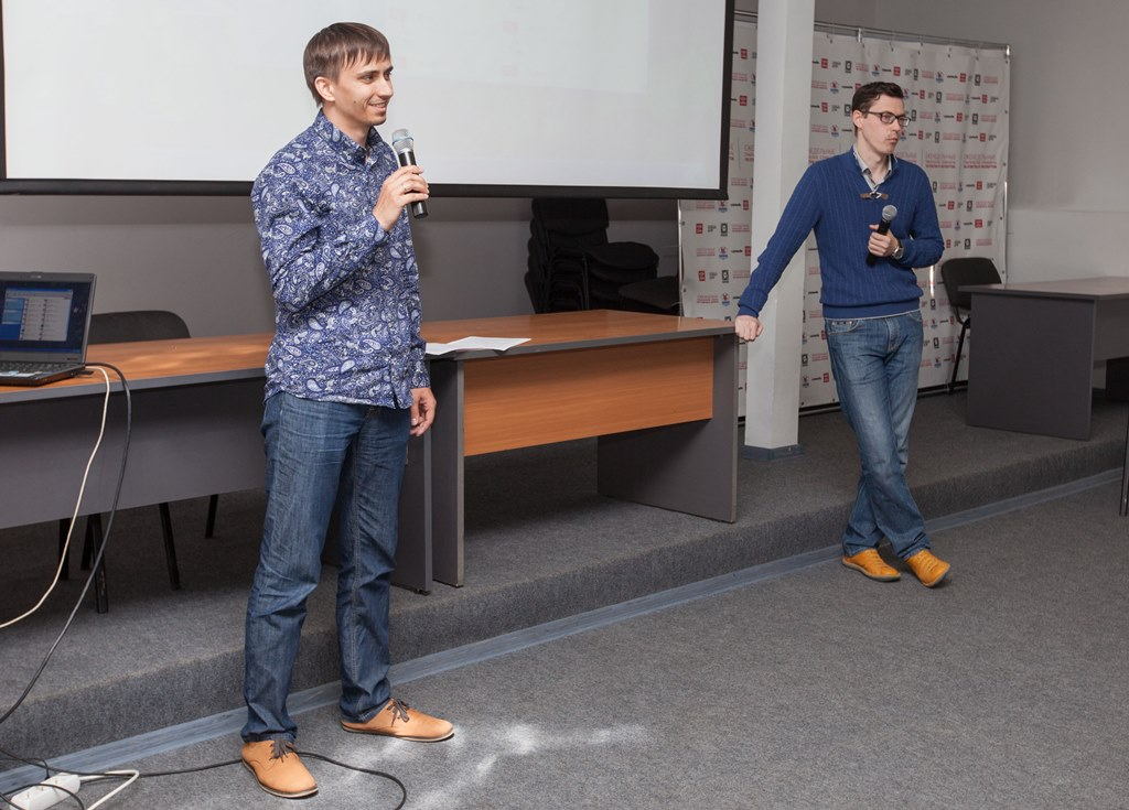 Дмитрий Жигалев и Сергей Бахарев