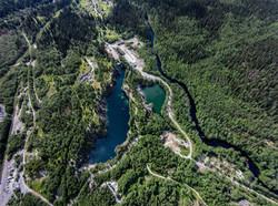 Реальный вид горного парка Рускеала