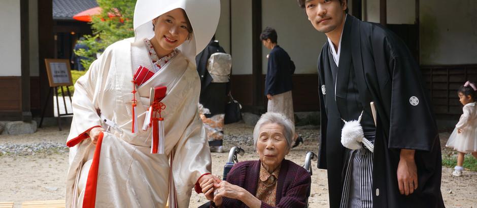 駒ケ根高原 古民家ウェディング 音の葉での挙式~披露宴サポート