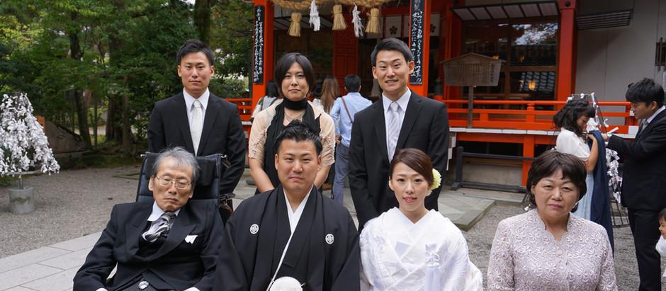金沢神社 神前式ご参列サポート