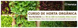 Curso Horta Orgânica Doméstica