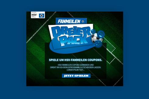 HSV DREIERPACK (Fanmiles) - GAME DESIGN