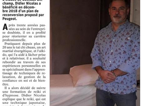 Article Est Républicain du 15 Décembre 2019