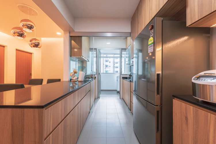 Drt & Wet Kitchen Area