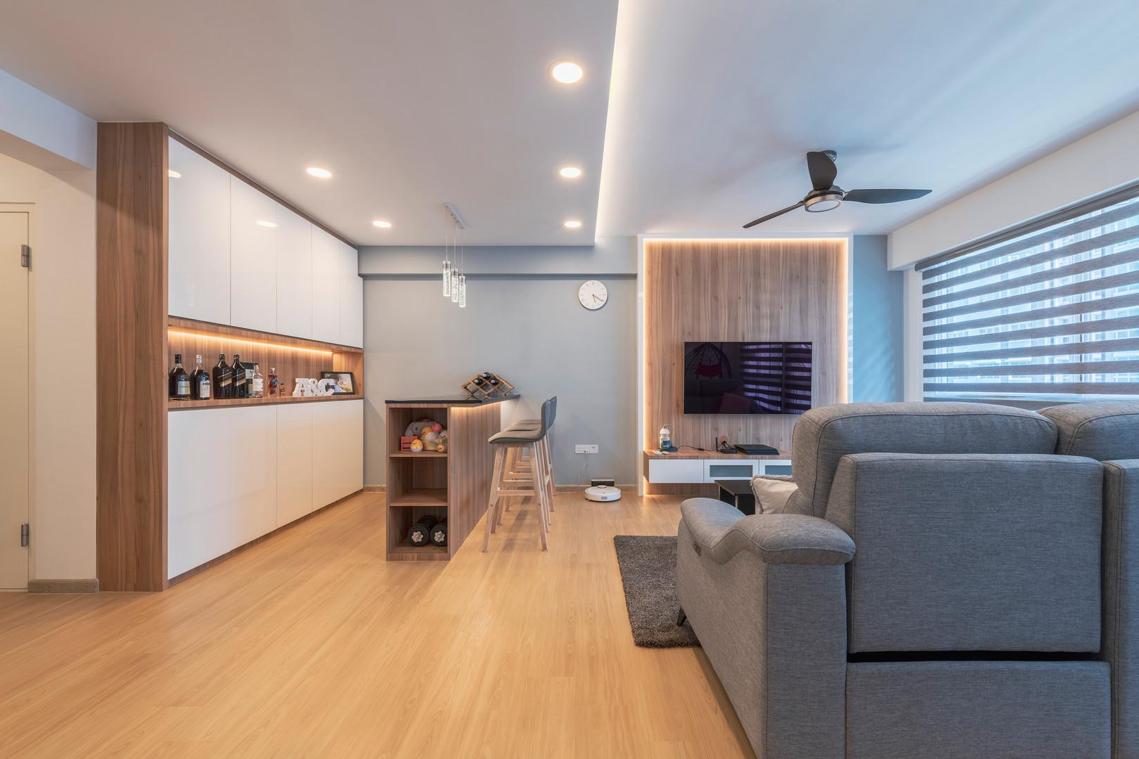 Whole living hall