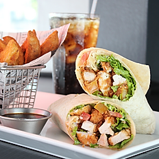 SPICY CRISPY CHICKEN WRAP